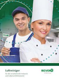 Titelseite des Katalogs Luftreiniger von Rentschler REVEN