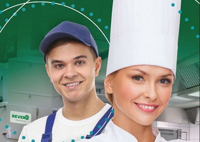 Screenshot eines Ausschnitts aus dem Cover des Katalogs Luftreiniger der Firma Rentschler Reven
